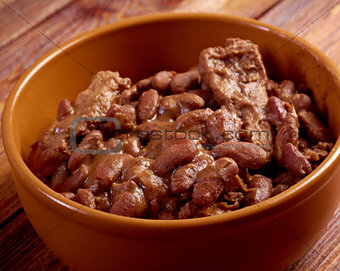 bowl of boston baked beans