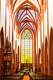 interior of St Mary Magdalene''s Church, Wroclaw, Silesia, Polan