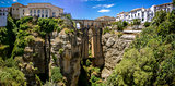 Ronda Panoramic view over Puente Nuevo