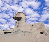 "So called ""Sphinx"" rock fomation."