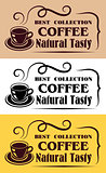 Best Collection Coffee labels