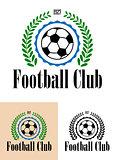 Football Club tetro emblem
