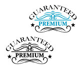 Guaranteed Premium calligraphic elements