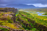 Thingvellir National Park rift valley