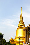 The pagoda of Wat Phra Kaew ,Thailand.