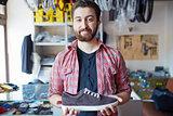 Selling footwear