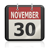 November 30, St. Andrew s Day calendar
