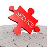 Service puzzle