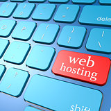 Web hosting keyboard