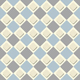 Vector seamless checkered background. A simple illustration