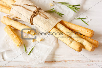 Bread sticks.