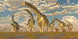 Argentinosaurus Herd Migration