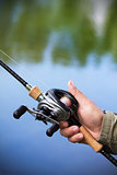 Modern fishing tackle