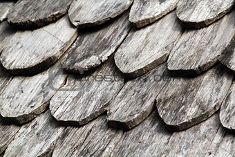 Old roof wood