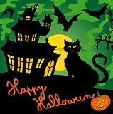 Green spooky house 03