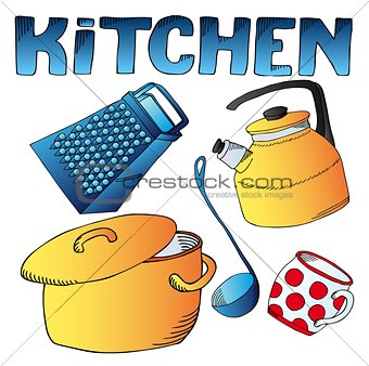 Kitchen dishes collection