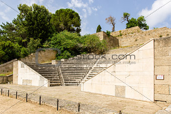 Amphitheater of the Acropolis in Rhodes