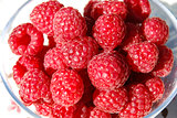 Raspberries closeup