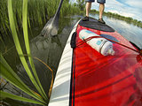 stand up paddling detail
