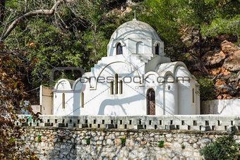Greek orthodox church in Poros island