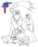Coloring image Bethlehem