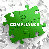 Compliance on Green Puzzle.