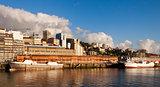 Vigo city port