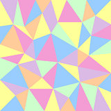 triangular pastel background
