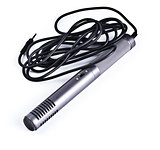 gray condenser microphone with cable