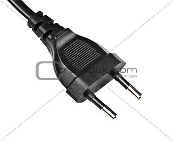 black electric plug