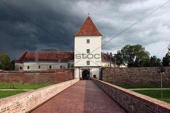 Castle in Sárvár (Sarvar), Hungary