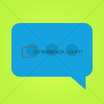 Flat Chat Message Icon