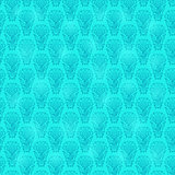 Blue vintage seamless pattern wallpaper