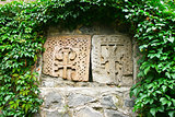 Khachkars or cross-stones