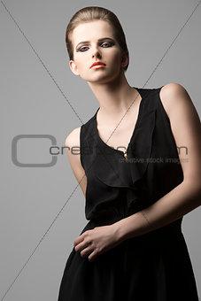charming fashion female