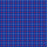 Seamless mesh pattern over blue