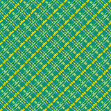 Seamless mesh diagonal pattern over green