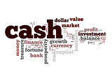 Cash word cloud