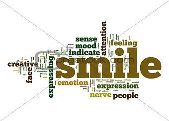 Smile word cloud