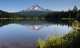 Mountain Lake America Stock Photo
