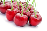 appetizing cherries