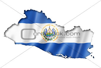 Salvadoran flag map