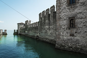 Sirmione, old castle on the Garda lake