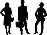 business people - vector