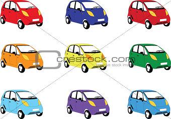 car collection - vector