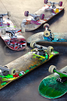 Old Skateboards