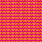 Tile pink and orange zig zag vector pattern or decoration background