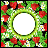 Strawberry Scrapbook Photo Frame