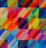 Abstract multicolored overlay backdrop