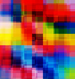 Abstract multicolored overlay background